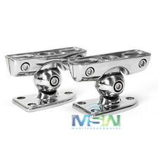 NEW JL AUDIO M-MCPv3-DM ETXv3 MARINE SPEAKER CLAMPS for SURFACE / DECK MOUNTING