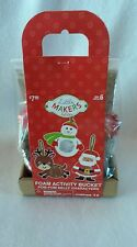 Little Makers Holiday Foam Christmas Activity Pom Pom Characters