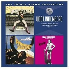 Triple Album Collection by Udo Lindenberg (CD, Oct-2012, Warner Music)