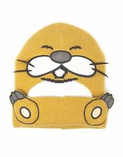 OFFICIAL NINTENDO'S SUPER MARIO BRO'S MONTY MOLE COSTUME BEANIE HAT (NEW)