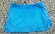 NIKE DRI-FIT TENNIS SKIRT SKORT BLUE M EUC