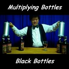 MULTIPLYING BOTTLES 10 BLACK BOTTLES & TUBES ALL HIGH QUALITY METAL MAGIC TRICK