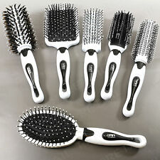 SALON QUALITY BRUSH SET 6Pc +GENUINE HAIR ACADEMY+ Hairdressing Style Kit Paddle