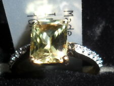 100% NATURAL SIZE J/K CSARITE & ZIRCON (DIASPORE) 9K GOLD RING 1.95CT ULTRA RARE