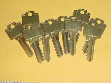 a 10 Cut alike keys USCAN n1054wb WR5 for Weiser locks Brass NOS vintage