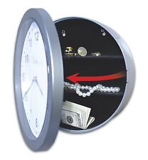 Wall Clock Safe Money Hiding Camouflage Jewelry House Business Office Valued