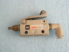 SMC Cylinder Model: VM13 Pneumatic Roller Switch