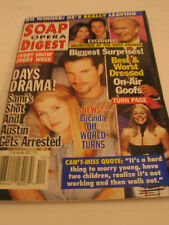 SOAP OPERA DIGEST AUSTIN PECK ALISON SWEENEY PAUL ANTHONY CORPORATE INTRIGUE OOP