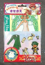 Magic Knight Rayearth Fuu Hououji Sticker Dress Up Doll Anime