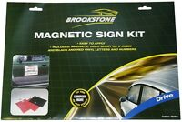 DIY MAGNETIC SIGN KIT ADVERTISE COMPANY BUSINESS ON CAR OR VAN