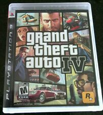 Grand Theft Auto IV (Sony PlayStation 3, 2008) Maps Complete Game Mature Blood