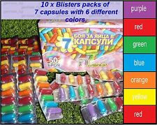 10pcs. x Blisters Paint Color Dip Decorate Dye Dyeing EASTER EGGS-Priority DLV.