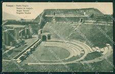 Napoli Pompei Teatro Tragico cartolina XB2800