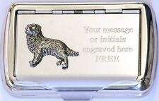 Retriever Tobacco Hand Cigarette Roll Ups Tin Gundog Shooting Gift