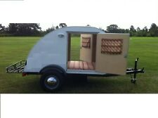 Build a Teardrop Camper Trailer for motorcycle or small car (DIY Plans) Fun!!