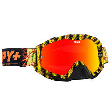 Spy NEW Mx Klutch Cacti Camo Yellow Black Tinted Red Spectra Motocross Goggles