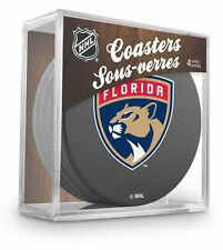 Official National Hockey League Licensed Florida Panthers Coaster Set New Logo