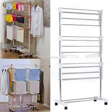 Clothes Drying Rack Indoor Folding Laundry Dryer Hanging Hanger Organizer Home