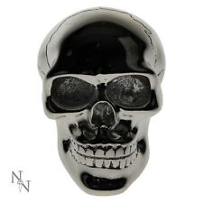GEAR KNOB CAR SILVER SKULL SKELETON FUN NOVELTY NEMESIS NOW NEW AND BOXED