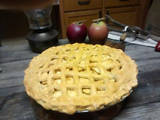 FAKE Apple Pie  9 Inch, Looks and smells like freshly baked apple pie