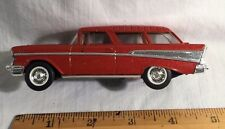 Diecast Replica 1957 2 Door Chevy Station Wagon  1:64 (#39)