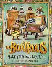The Boxtrolls:  Make Your Own Boxtroll Punch-Out Activity Book - LAIKA - Paperba