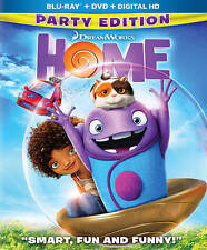 Home Party Edition (Blu-ray/DVD, 2015, 2-Disc Set, Includes Digital Copy) NEW