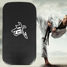 Leather PU Martial Art Taekwondo MMA Boxing Kicking Punching Foot Target Pad JL