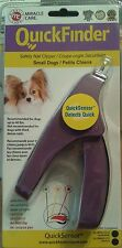 QUICK FINDER QUICK SENSOR MIRACLE CARE NAIL CLIPPERS FOR SMALL DOGS BRAND NEW