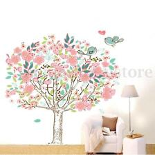 Birds Flower Tree Removable Vinyl Decal Wall Sticker Art Mural DIY Room Decor