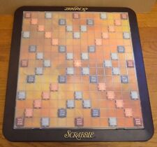 WORKING 1999 Scrabble Deluxe Turntable Spinning Game Board Table Instructions