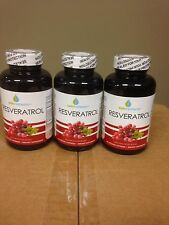 3 New Sealed Bottles Resveratrol Bio Enhanced Blend with Maqui Berry, Acai Berry
