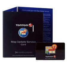 2 Jahre Kartenupdate Code für TomTom VIA 120 125 130 135 Live Traffic Navigation