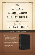 Classic King James Study Bible:  Edited by C. I. Scofield