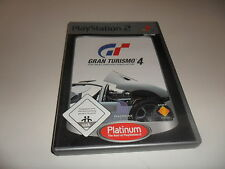 PlayStation 2  PS 2  Gran Turismo 4 [Platinum] CD