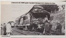 1982  --  APRES UN ACCIDENT DE TRAIN PRES D ANCENIS   3E811