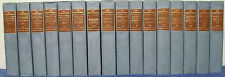 THE LIFE WORK OF HENRI RENE GUY DE MAUPASSANT 16 ILLUSTRATED VOLS HC's LN 1903
