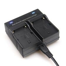 Dual Channel Battery Charger FOR SONY NP-F550 F970 F960 F770 F930 FX1000 BC-V615
