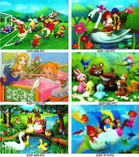 Vintage 3D Lenticular Cute Kid Postcard Collection 6 Children Cards - #6-KID-PC#