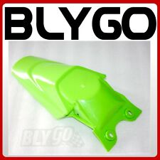 Green Plastic Rear Tail Mud Guard Fender KLX110 Style PIT PRO Trail Dirt Bike