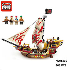 Enlighten Pirates of Caribbean Predator Ship Building Block Toy Fit for LEGO New