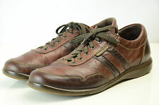 Mephisto Air-Jet Bonito Mens 10US 9 1/2EUR Brown Leather Sneakers Sports Shoes