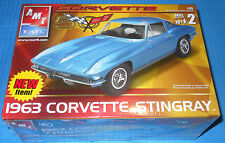 AMT 1963 Corvette Stingray 50th Anniversary 1/25 Scale-NEW-Model Car Swap Meet