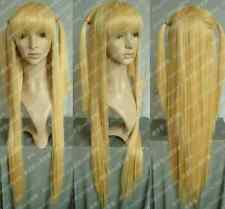 anime Animation Art Death Note Cosplay Amane Misa Long Warm Blonde Wig wigs ///