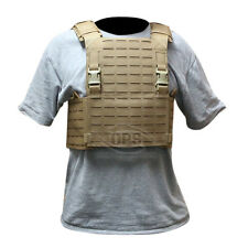 OPS / UR-TACTICAL ADVANCED MODULAR PLATE CARRIER IN COYOTE BROWN LASER CUT