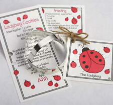 2   LADYBUGS ~ tin cookie cutters ~ MADE IN THE USA (NEW)  SALE!