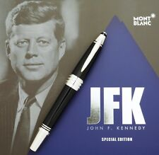 RARE MONT BLANC JFK PEN ORIGINAL LAUNCH SALES BROCHURE UNMARKED DRY STORED NEW