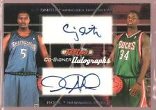 CRAIG SMITH DAVID NOEL $25 MINT ROOKIE AUTO RC SP 2006-07 TOPPS COURT CO-SIGNERS
