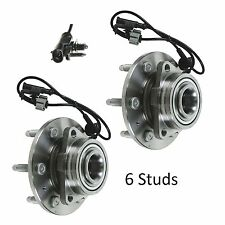 2007-2011 Chevrolet Silverado 1500 (4WD) Front Wheel Hub Bearing Assembly (PAIR)