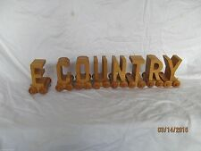 Lot of wooden letters on wheels wooden train letter lot